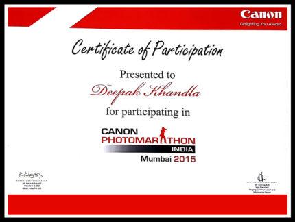 Deepak Khandla_Canon_Photomarathon